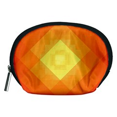 Pattern Retired Background Orange Accessory Pouches (medium)
