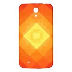 Pattern Retired Background Orange Samsung Galaxy Mega I9200 Hardshell Back Case