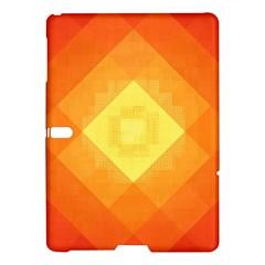 Pattern Retired Background Orange Samsung Galaxy Tab S (10 5 ) Hardshell Case