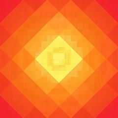 Pattern Retired Background Orange Magic Photo Cubes