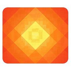 Pattern Retired Background Orange Double Sided Flano Blanket (small)