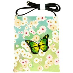 Green Butterfly Shoulder Sling Bags