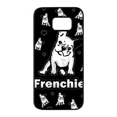 Frenchie Samsung Galaxy S7 Edge Black Seamless Case