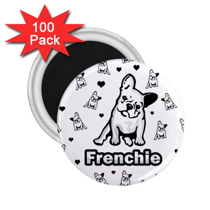 French bulldog 2.25  Magnets (100 pack)