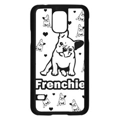 French bulldog Samsung Galaxy S5 Case (Black)