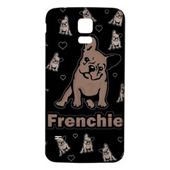 French bulldog Samsung Galaxy S5 Back Case (White)