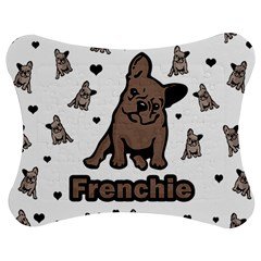 French Bulldog Jigsaw Puzzle Photo Stand (bow)