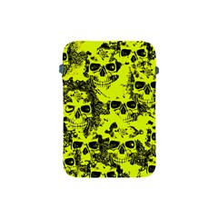 Cloudy Skulls Black Yellow Apple iPad Mini Protective Soft Cases