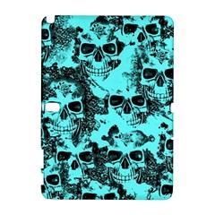 Cloudy Skulls Aqua Galaxy Note 1