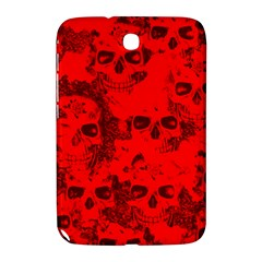 Cloudy Skulls Red Samsung Galaxy Note 8.0 N5100 Hardshell Case