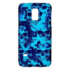 Cloudy Skulls Blue Galaxy S5 Mini