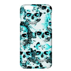 Cloudy Skulls White Aqua Apple iPhone 6 Plus/6S Plus Hardshell Case