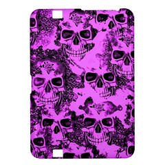 Cloudy Skulls Pink Kindle Fire HD 8.9