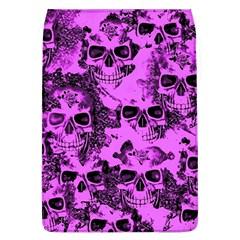 Cloudy Skulls Pink Flap Covers (L)