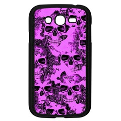 Cloudy Skulls Pink Samsung Galaxy Grand DUOS I9082 Case (Black)