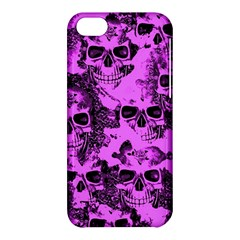 Cloudy Skulls Pink Apple iPhone 5C Hardshell Case