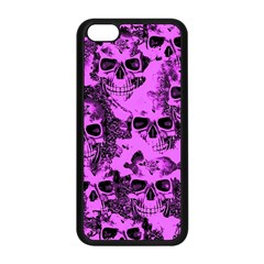 Cloudy Skulls Pink Apple iPhone 5C Seamless Case (Black)