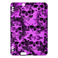 Cloudy Skulls Pink Kindle Fire HDX Hardshell Case