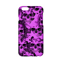 Cloudy Skulls Pink Apple iPhone 6/6S Hardshell Case