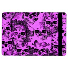 Cloudy Skulls Pink iPad Air 2 Flip