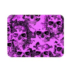 Cloudy Skulls Pink Double Sided Flano Blanket (Mini)