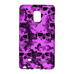 Cloudy Skulls Pink Galaxy Note Edge