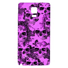 Cloudy Skulls Pink Galaxy Note 4 Back Case