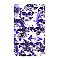 Cloudy Skulls White Blue Memory Card Reader