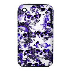Cloudy Skulls White Blue iPhone 3S/3GS