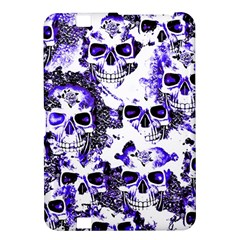 Cloudy Skulls White Blue Kindle Fire HD 8.9