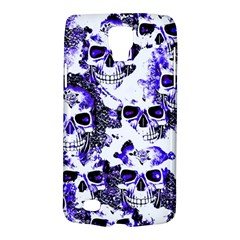 Cloudy Skulls White Blue Galaxy S4 Active