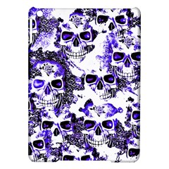 Cloudy Skulls White Blue iPad Air Hardshell Cases