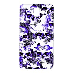 Cloudy Skulls White Blue Samsung Galaxy Note 3 N9005 Hardshell Back Case