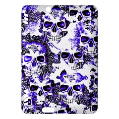 Cloudy Skulls White Blue Kindle Fire HDX Hardshell Case