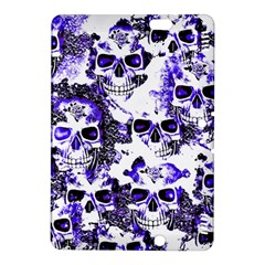 Cloudy Skulls White Blue Kindle Fire HDX 8.9  Hardshell Case