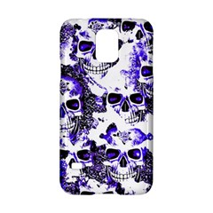 Cloudy Skulls White Blue Samsung Galaxy S5 Hardshell Case