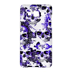 Cloudy Skulls White Blue Samsung Galaxy A5 Hardshell Case