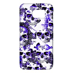 Cloudy Skulls White Blue Galaxy S6