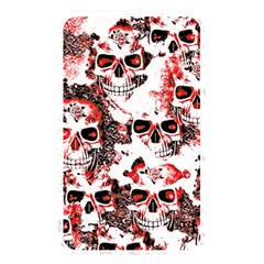 Cloudy Skulls White Red Memory Card Reader