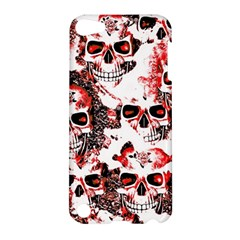 Cloudy Skulls White Red Apple iPod Touch 5 Hardshell Case