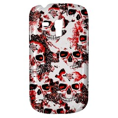 Cloudy Skulls White Red Galaxy S3 Mini