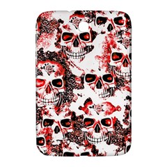 Cloudy Skulls White Red Samsung Galaxy Note 8.0 N5100 Hardshell Case