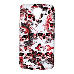 Cloudy Skulls White Red Galaxy S4 Active