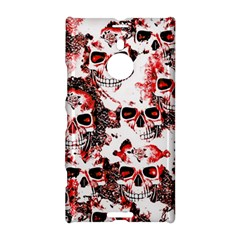 Cloudy Skulls White Red Nokia Lumia 1520