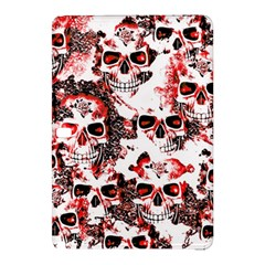 Cloudy Skulls White Red Samsung Galaxy Tab Pro 10.1 Hardshell Case
