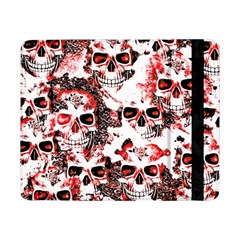 Cloudy Skulls White Red Samsung Galaxy Tab Pro 8.4  Flip Case