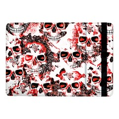 Cloudy Skulls White Red Samsung Galaxy Tab Pro 10.1  Flip Case