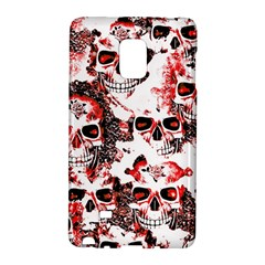 Cloudy Skulls White Red Galaxy Note Edge