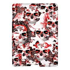 Cloudy Skulls White Red Samsung Galaxy Tab S (10.5 ) Hardshell Case