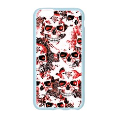 Cloudy Skulls White Red Apple Seamless iPhone 6/6S Case (Color)